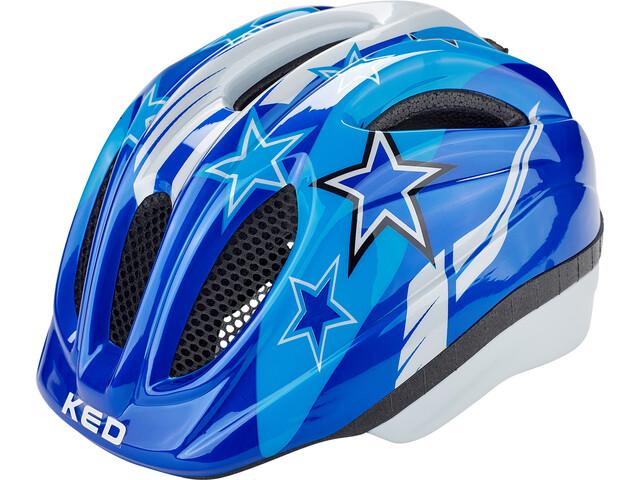 KED Meggy Casco Niños, blue stars